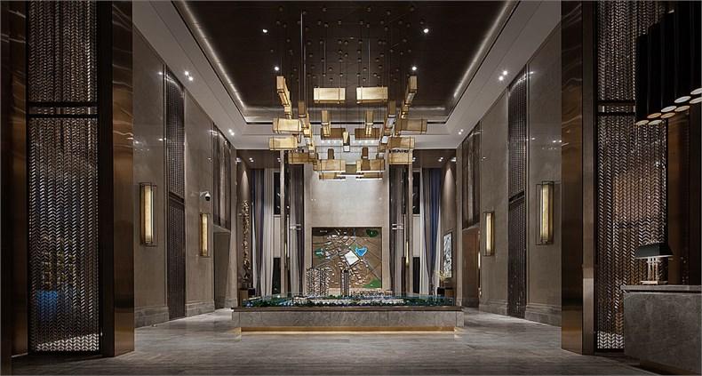 艾迪尔建筑装饰:成都皇冠湖销售体验中心设计-03