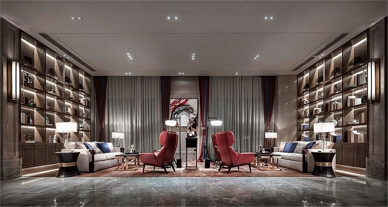 艾迪尔建筑装饰:成都皇冠湖销售体验中心设计-06