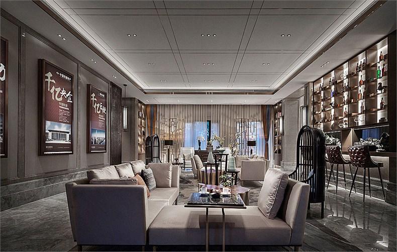 艾迪尔建筑装饰:成都皇冠湖销售体验中心设计-04