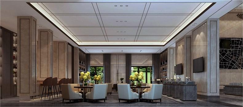 艾迪尔建筑装饰:成都皇冠湖销售体验中心设计-05