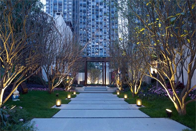 艾迪尔建筑装饰:成都皇冠湖销售体验中心设计-02