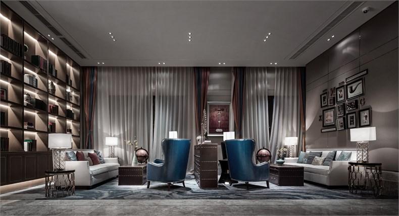 艾迪尔建筑装饰:成都皇冠湖销售体验中心设计-07