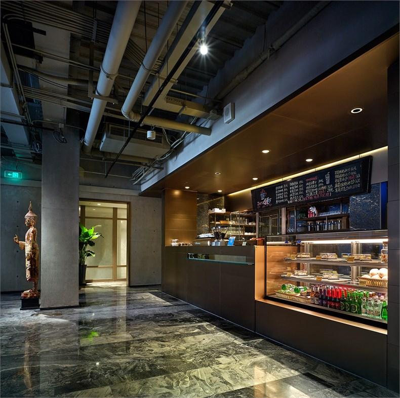艾迪尔建筑装饰:ZERO COFFEE·餐厅设计-05