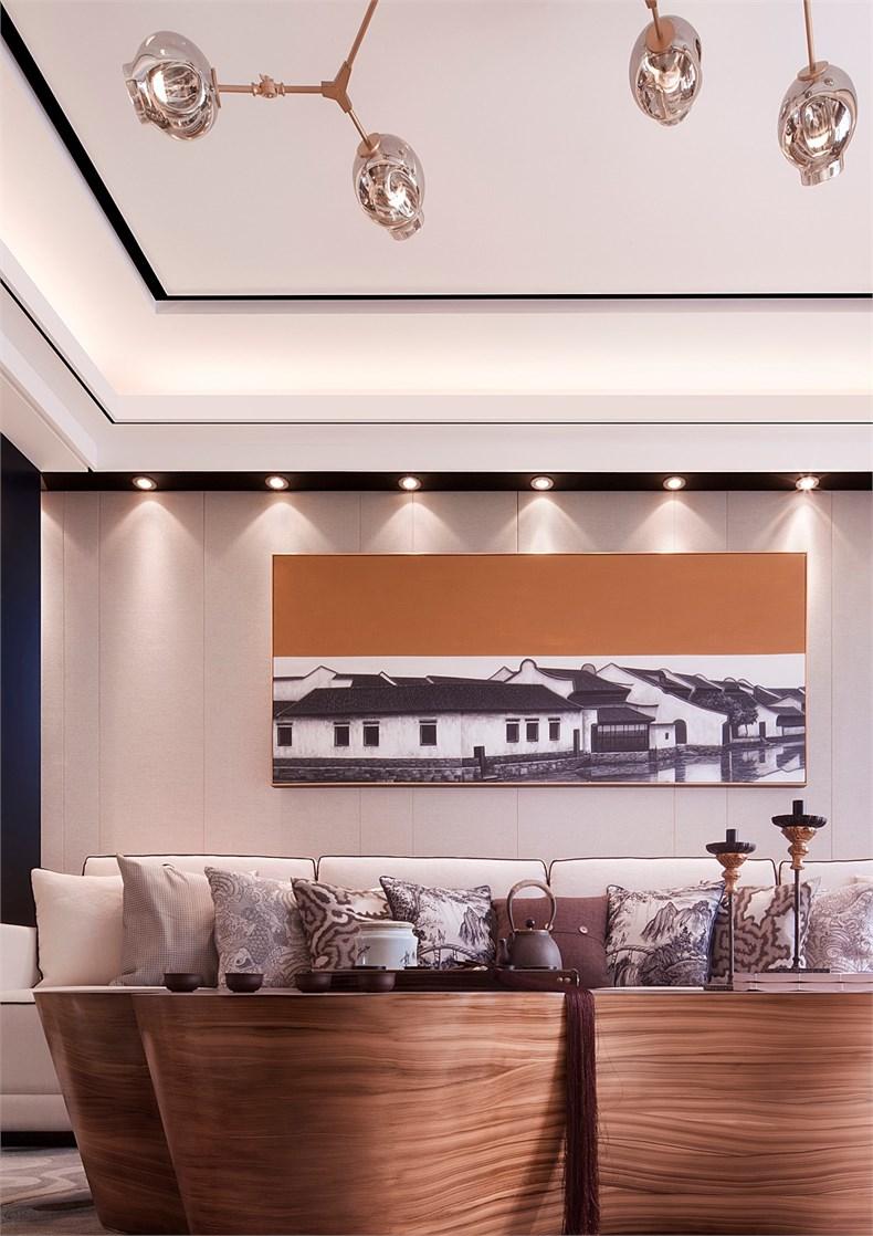 成象设计:绿地·泉景嘉园复式样板间设计-03