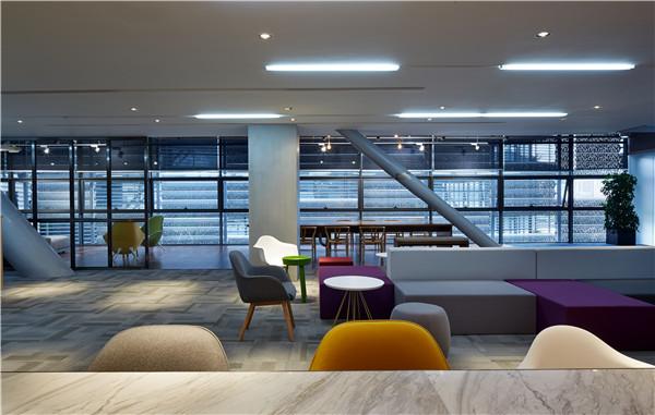 BLVD办公新作| 深圳万科总部室内改造设计5