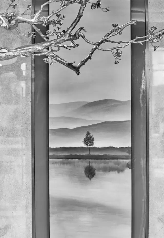 Andy Leung:新中式主义南京蓝光公园售楼处室内设计-01