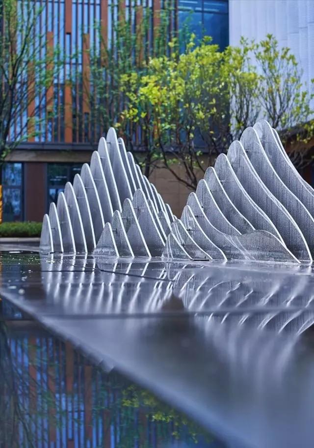 Andy Leung:新中式主义南京蓝光公园售楼处室内设计-02