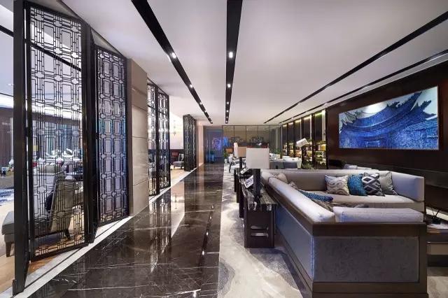 Andy Leung:新中式主义南京蓝光公园售楼处室内设计-09