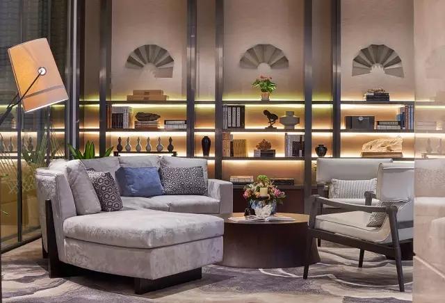 Andy Leung:新中式主义南京蓝光公园售楼处室内设计-15