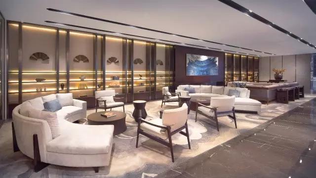 Andy Leung:新中式主义南京蓝光公园售楼处室内设计-16