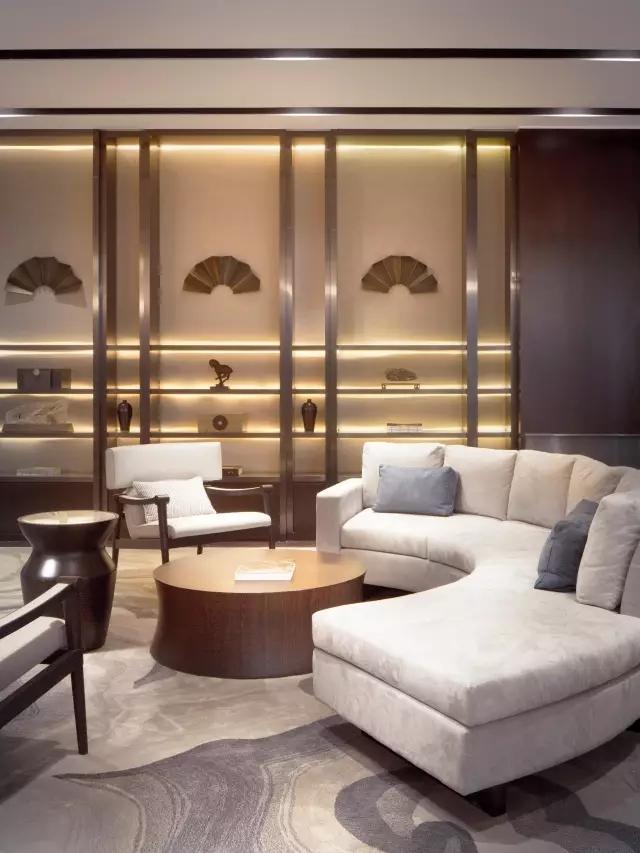 Andy Leung:新中式主义南京蓝光公园售楼处室内设计-17