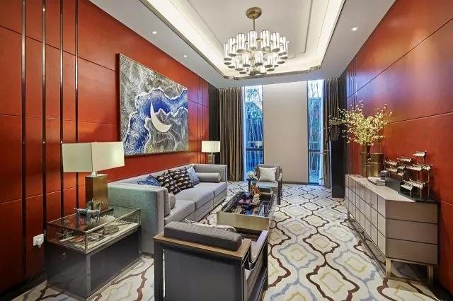 Andy Leung:新中式主义南京蓝光公园售楼处室内设计-19