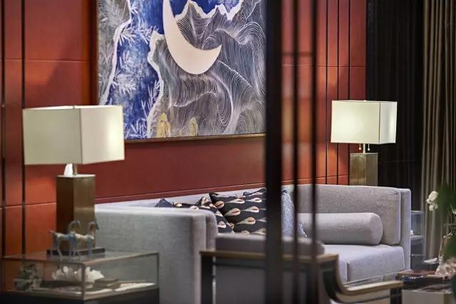 Andy Leung:新中式主义南京蓝光公园售楼处室内设计-20