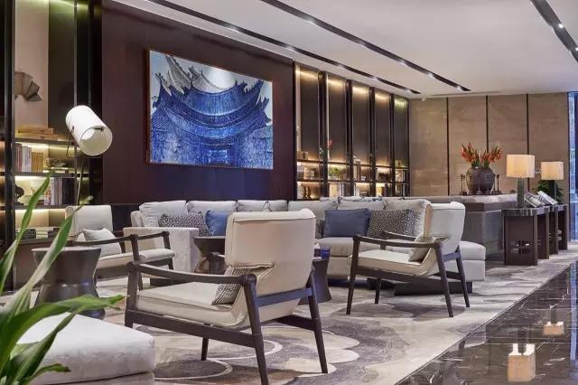 Andy Leung:新中式主义南京蓝光公园售楼处室内设计-10