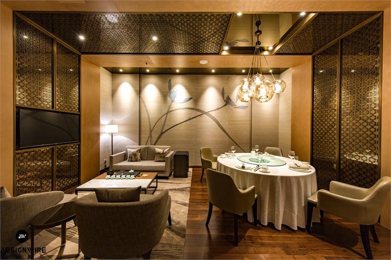 文玉:北京富力万丽酒店雅苑中餐厅设计-07