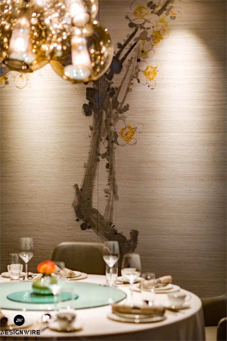 文玉:北京富力万丽酒店雅苑中餐厅设计-09