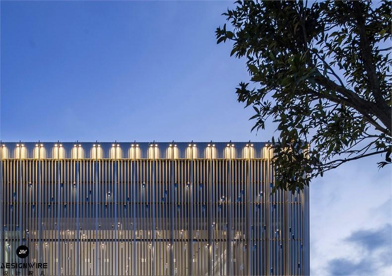 矩阵纵横:广州华润天合销售中心设计-11