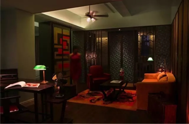 Andy Leung:新中式主义南京蓝光公园售楼处室内设计-29
