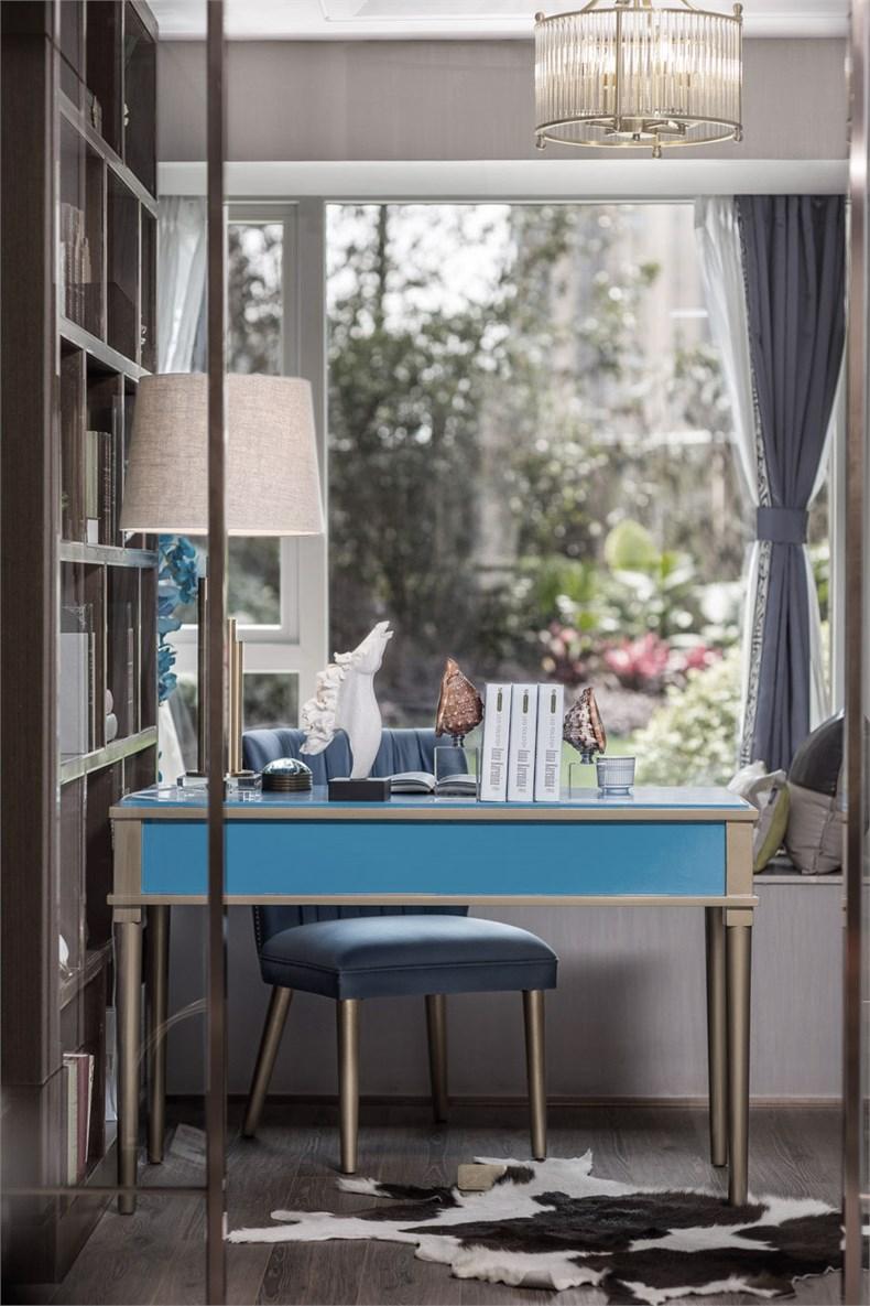 艾迪尔设计:皇冠湖壹号现代奢华样板间-15