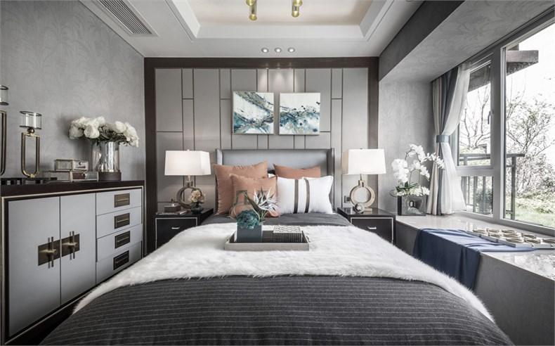 艾迪尔设计:皇冠湖壹号现代奢华样板间-16