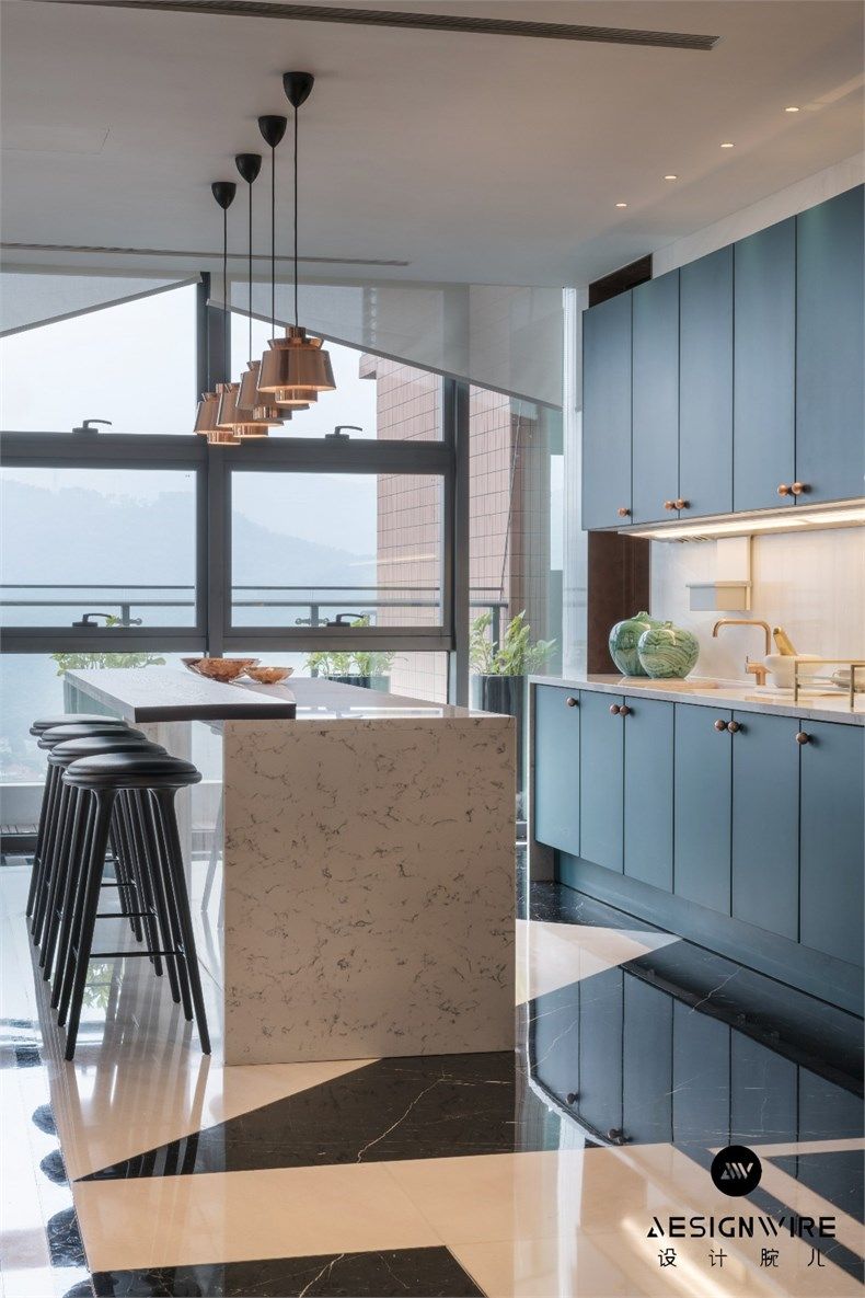 Thomas DARIEL:深圳顶层公寓设计11