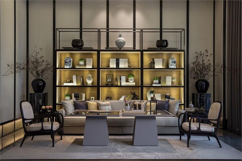 北京金茂府室内软装设计之法式软装装饰