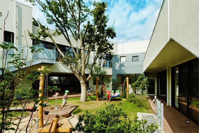 日比野:KM幼稚园&托儿所设计-05