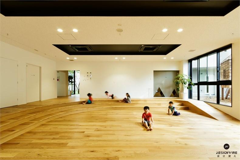 日比野:KM幼稚园&托儿所设计-08
