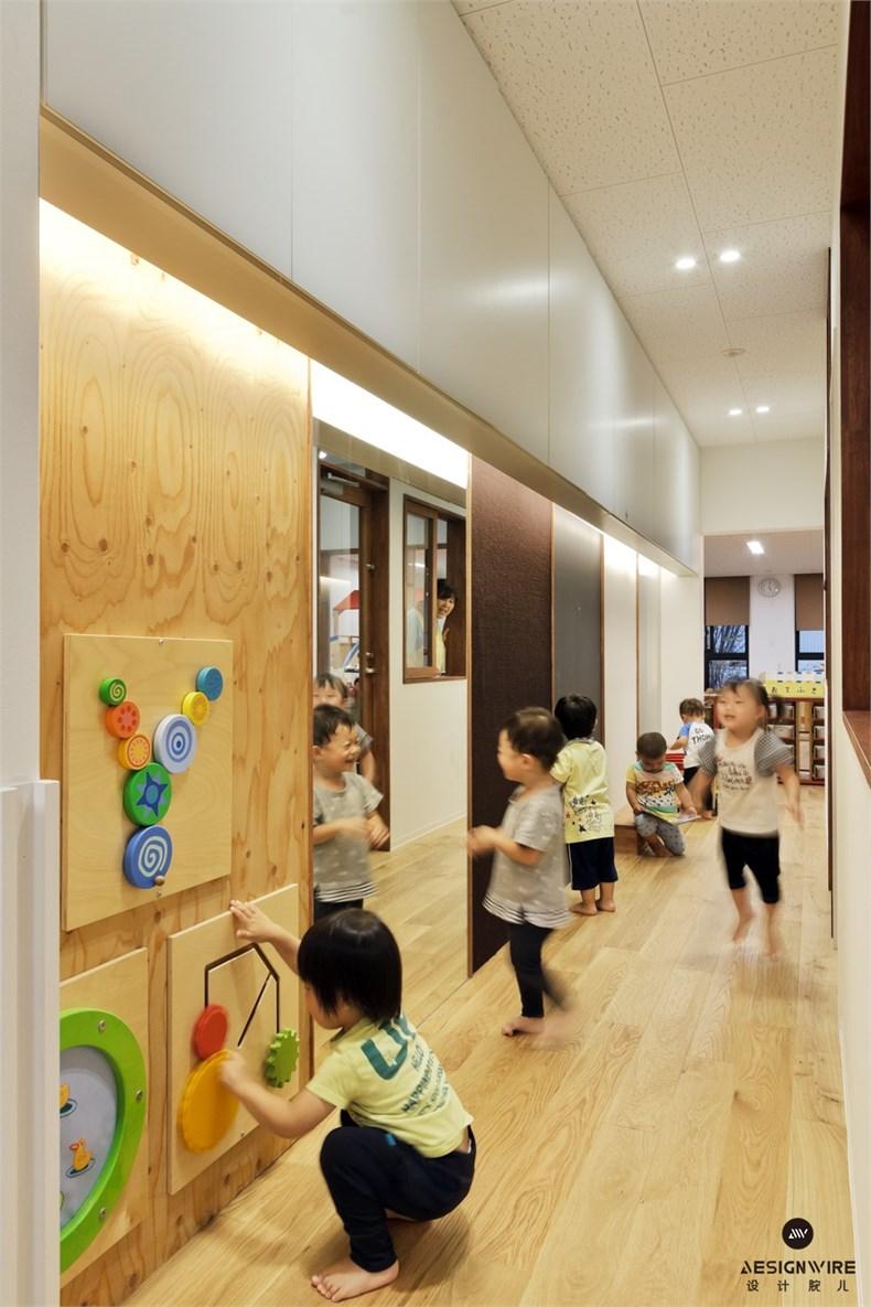 日比野:KM幼稚园&托儿所设计-12