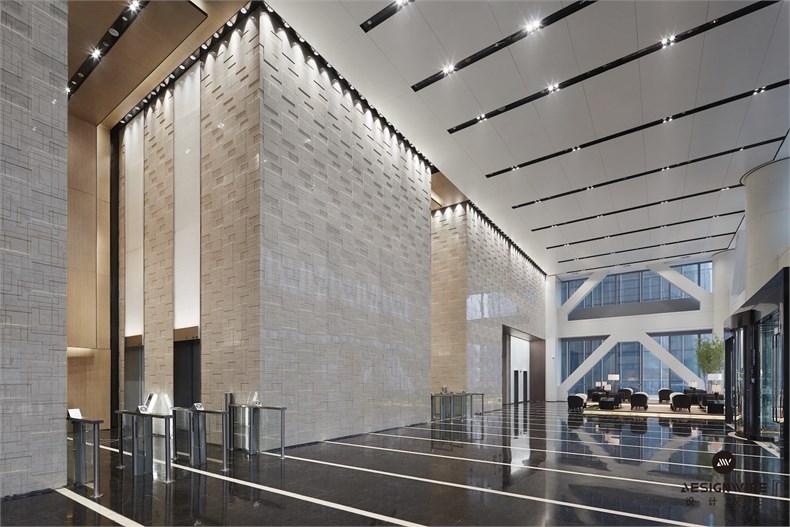 黄全:绿地集团三个高端办公楼室内设计-01