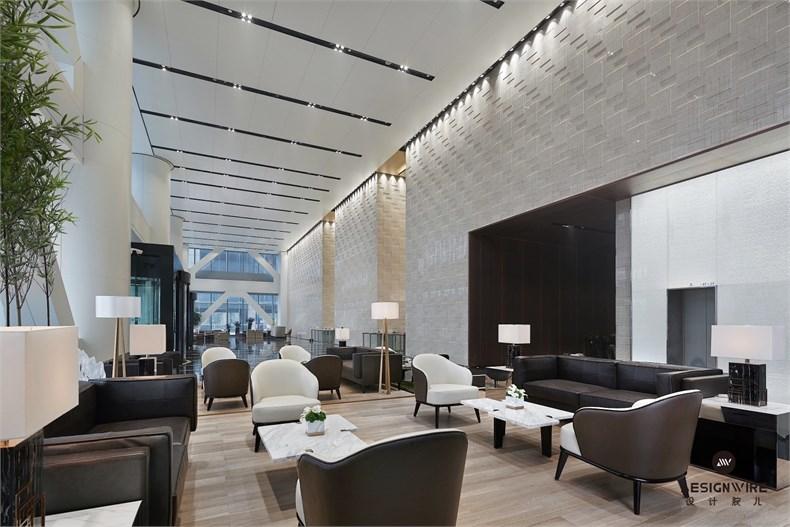 黄全:绿地集团三个高端办公楼室内设计-04