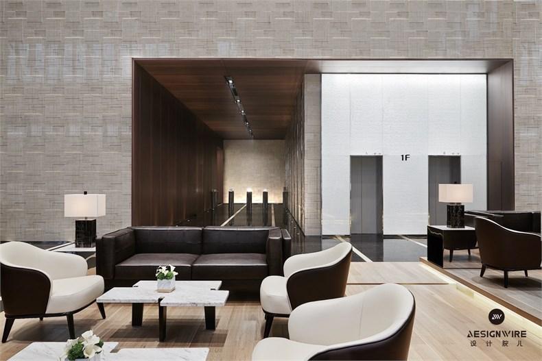 黄全:绿地集团三个高端办公楼室内设计-05