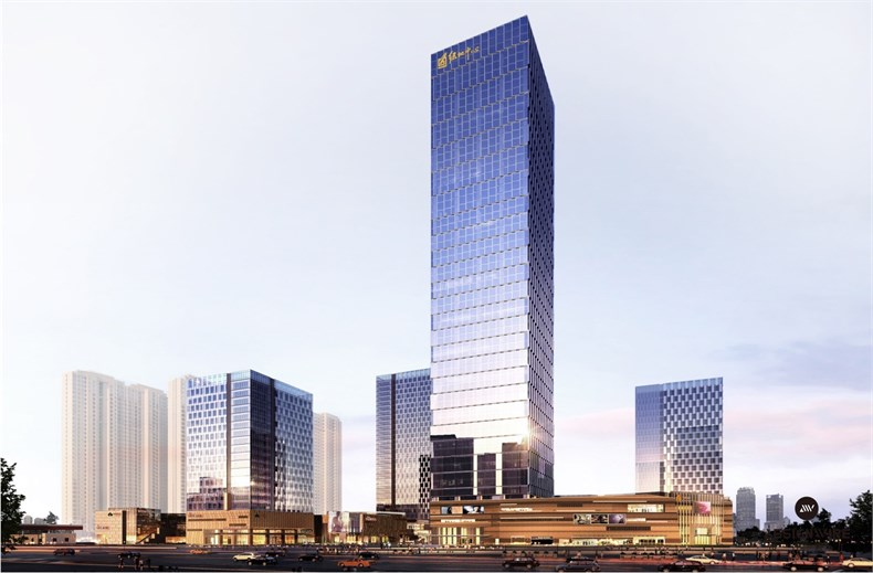 黄全:绿地集团三个高端办公楼室内设计-08
