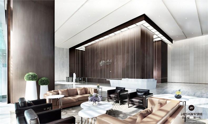 黄全:绿地集团三个高端办公楼室内设计-10