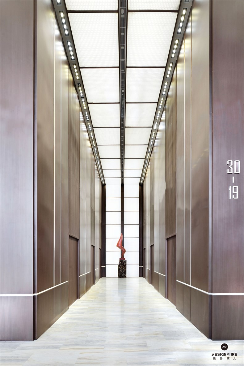 黄全:绿地集团三个高端办公楼室内设计-13