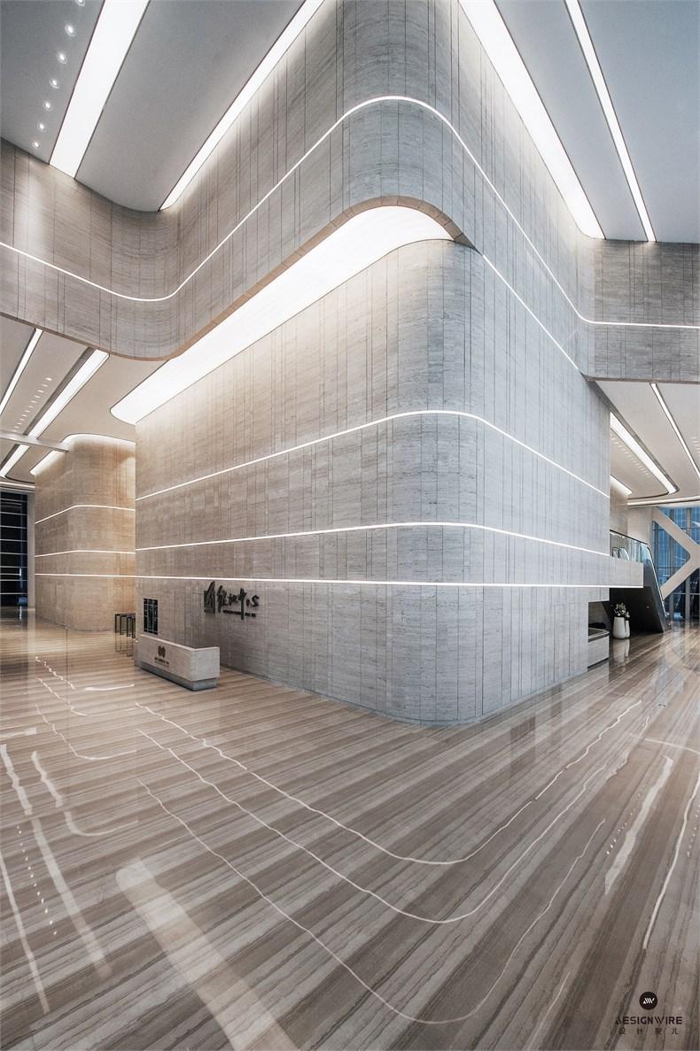 黄全:绿地集团三个高端办公楼室内设计-15