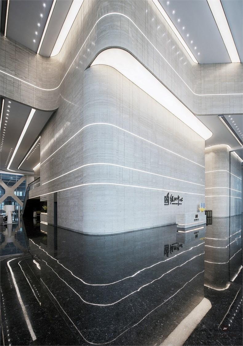 黄全:绿地集团三个高端办公楼室内设计-16