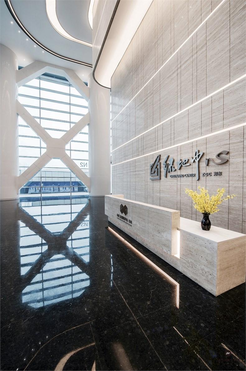 黄全:绿地集团三个高端办公楼室内设计-18
