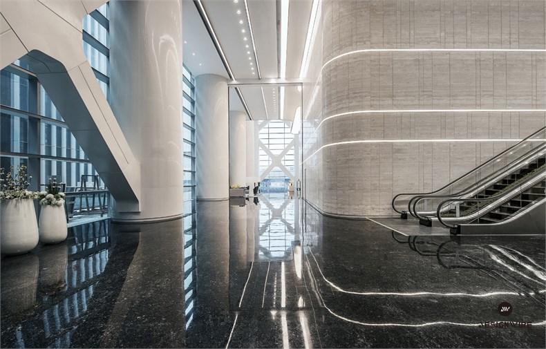 黄全:绿地集团三个高端办公楼室内设计-19