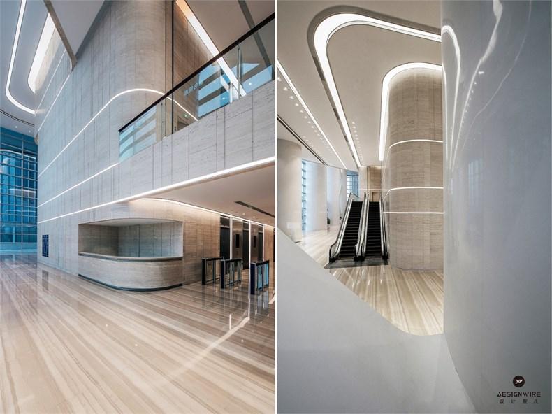黄全:绿地集团三个高端办公楼室内设计-20