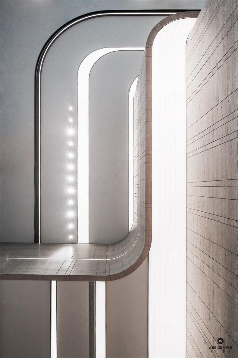 黄全:绿地集团三个高端办公楼室内设计-21