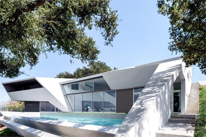 洛杉矶好莱坞山Mu77住宅设计-03