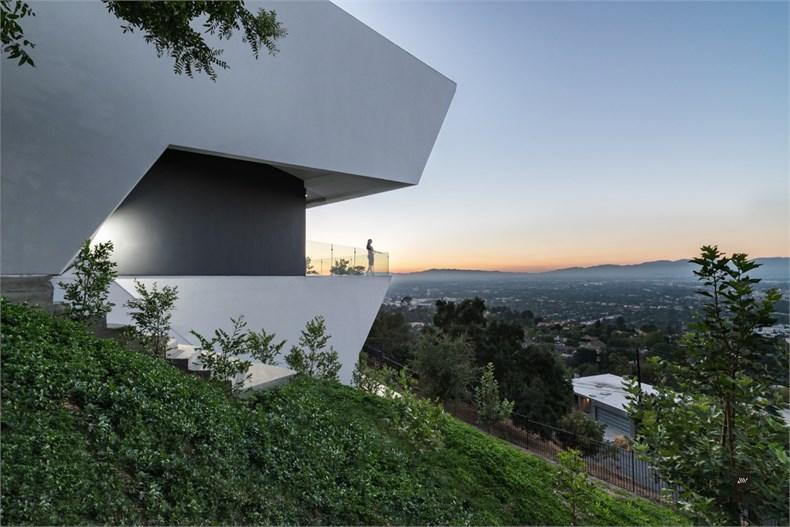 洛杉矶好莱坞山Mu77住宅设计-04