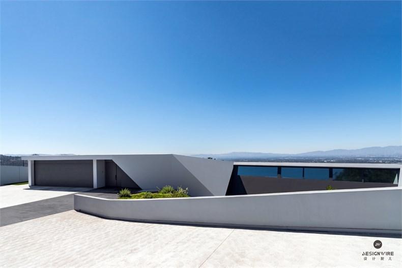 洛杉矶好莱坞山Mu77住宅设计-05