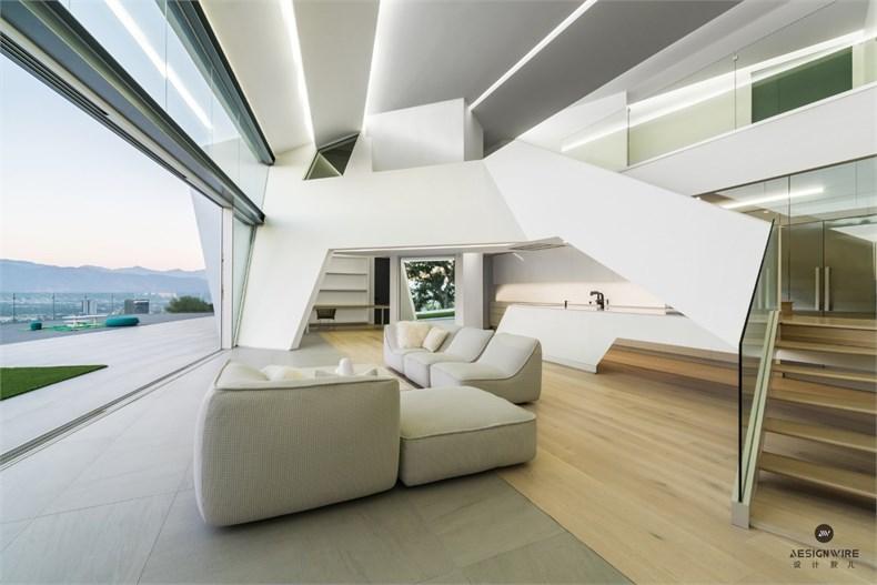洛杉矶好莱坞山Mu77住宅设计-06