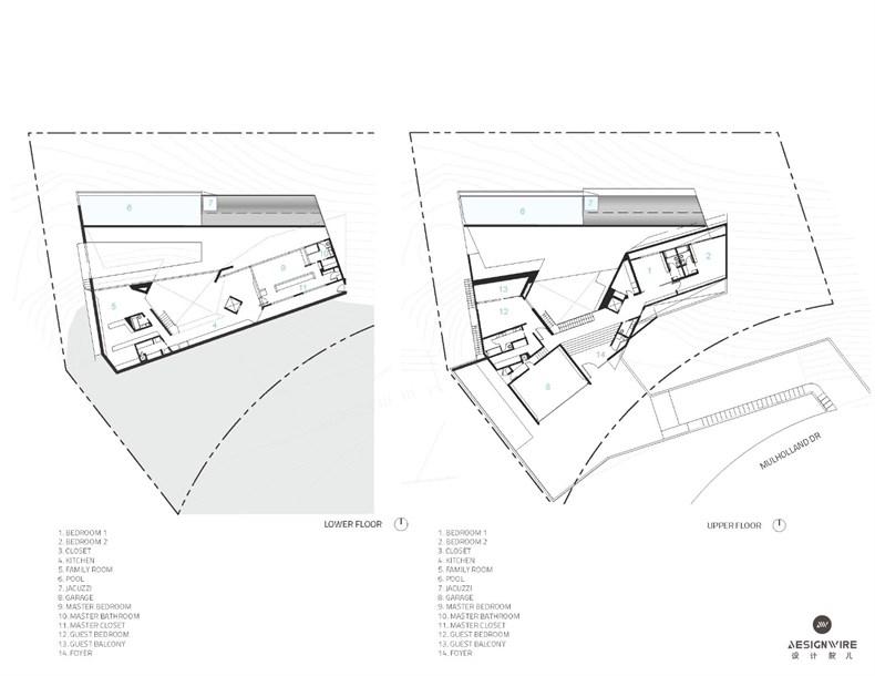 洛杉矶好莱坞山Mu77住宅设计-14