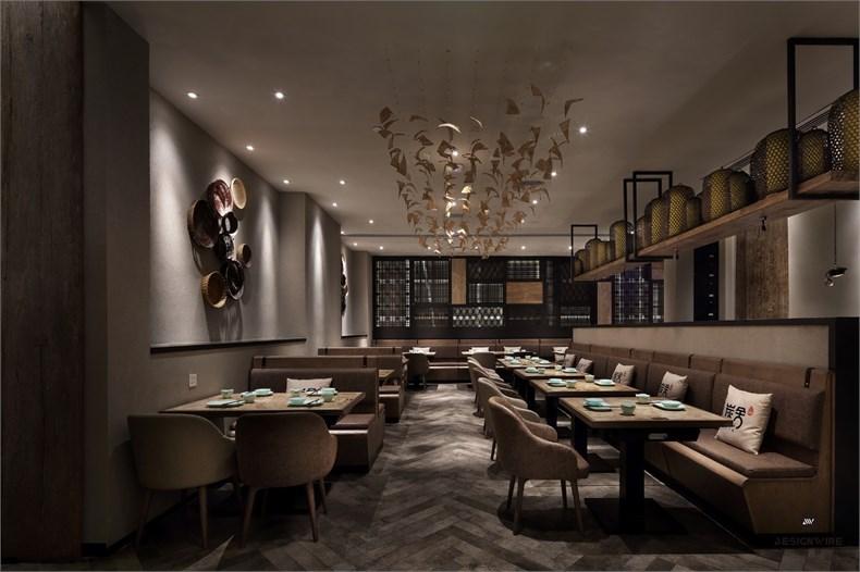 王锟:罗湖金光华炭舍餐厅设计-05