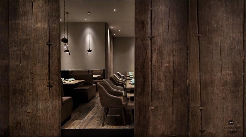 王锟:罗湖金光华炭舍餐厅设计-08