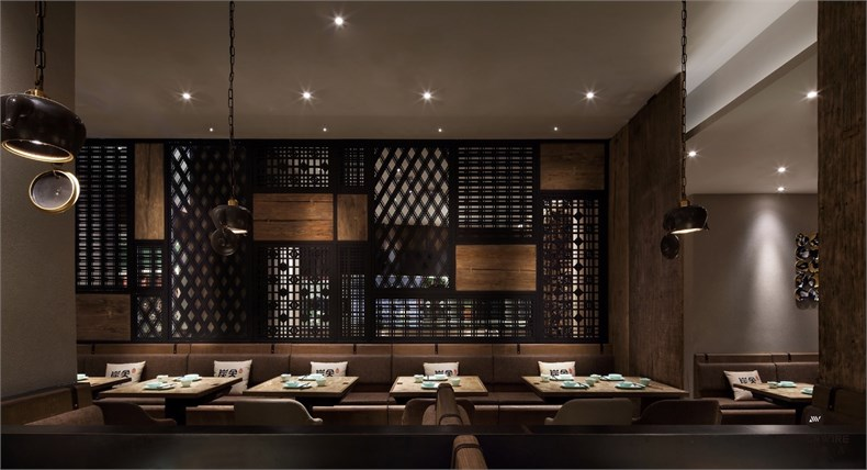 王锟:罗湖金光华炭舍餐厅设计-09