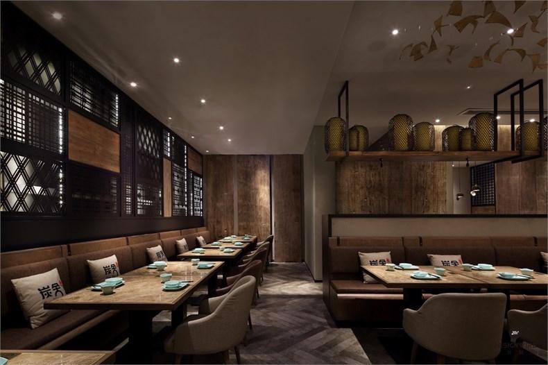 王锟:罗湖金光华炭舍餐厅设计-10